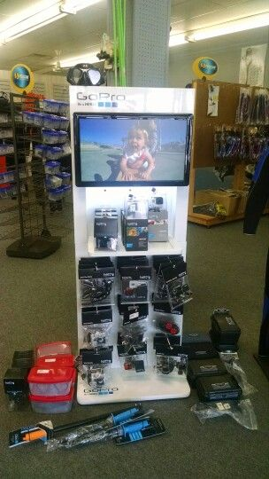 All your Go Pro equipment