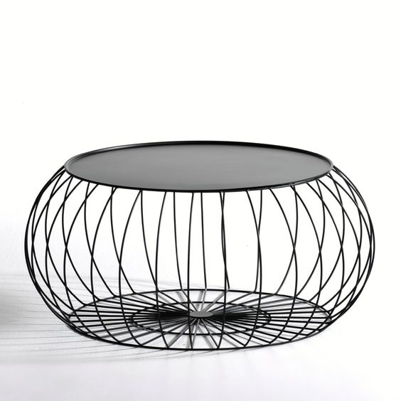 Table basse cage fil m tal am pm d e s i g n pinterest for Table basse scandinave ampm