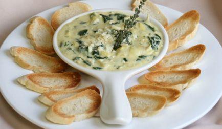 Healthy Recipes › Spinach Dip  Spinach Dip