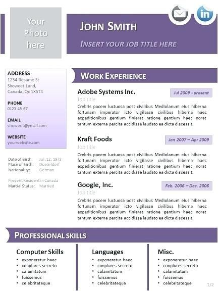 Openoffice Templates Resume Yuriewalter Downloadable Resume Template Resume Templates Resume Template