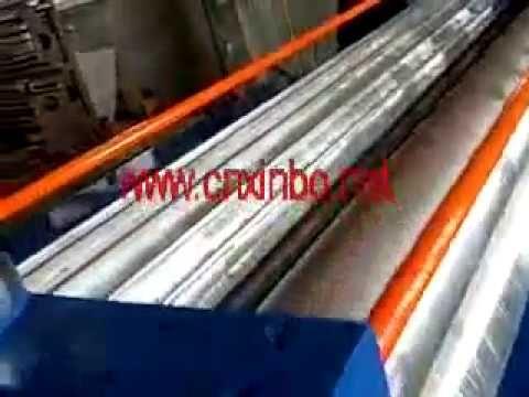 3 Rollers Corrugated Mac 2 Wooden Packaging Corrugated Making Machine