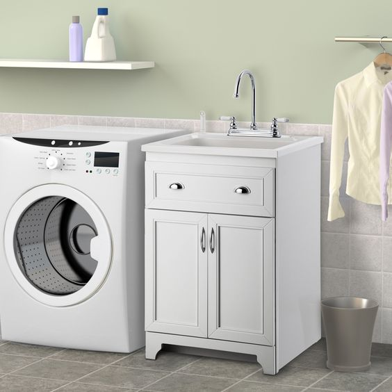 Cheap Utility Sink : Utility Sink Cabinet Foremost - Laundry Sinks, Tubs, & Utility Sinks ...