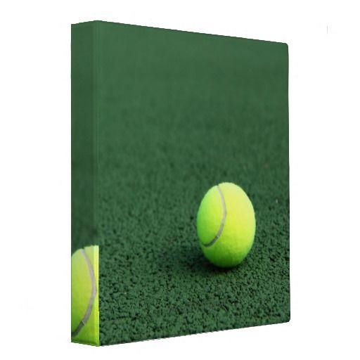 Tennis Ball 3 Ring Binders