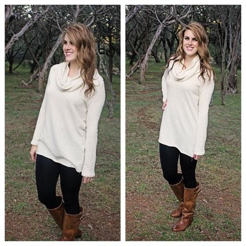 [Oversized Sweater] $26 from Flaunt Boutique