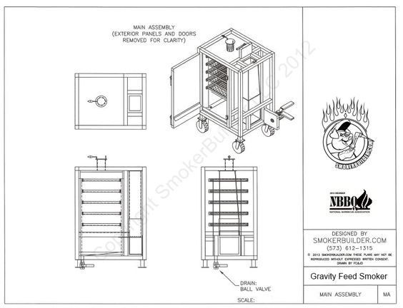 Build Your Own Gravity Feed Smoker Just Like A Stumps