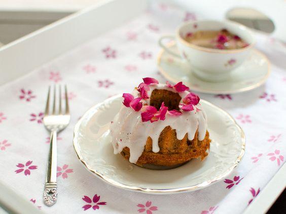 Honey and earl grey teacakes