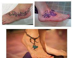 Tatuajes para mujeres en el tobillo imagenes