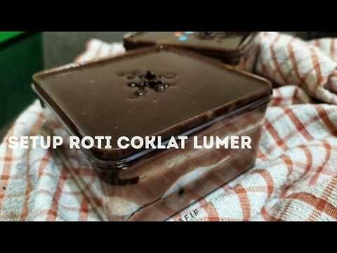 Setup Roti Coklat Lumer Youtube Rotis Resep Kue Keju Coklat