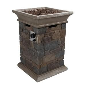 corinthian propane gas fire pit column 66597 at the home depot heating pinterest fire pits. Black Bedroom Furniture Sets. Home Design Ideas