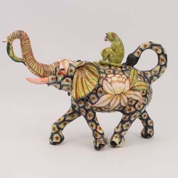 Elephant Monkey Teapot