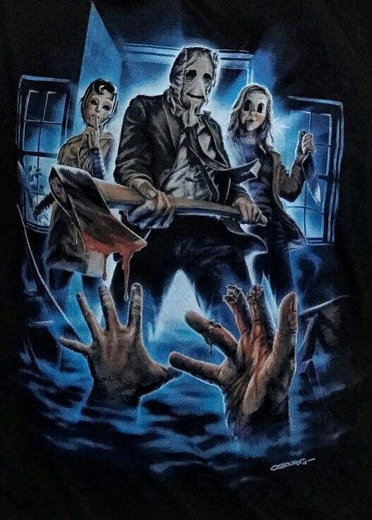 The Strangers Horror Movie Art Scary Movies Horror Artwork