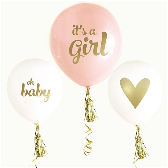 It s a girl balloons