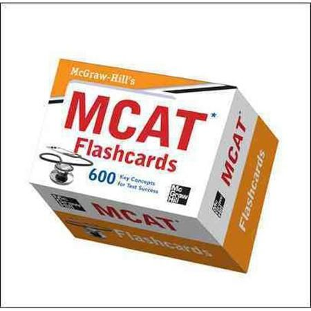 Mcgraw Hill S Mcat Flashcards Walmart Com Flashcards Lsat