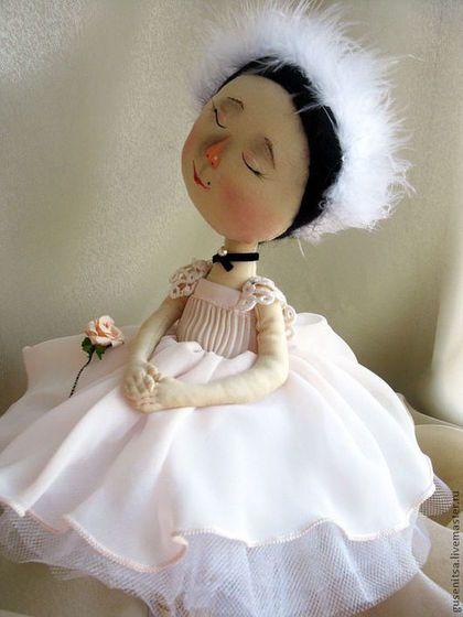 Купить Плисецкая. - балерина, гапчинская, интерьерная кукла, авторская ручная работа, оригинальный подарок
