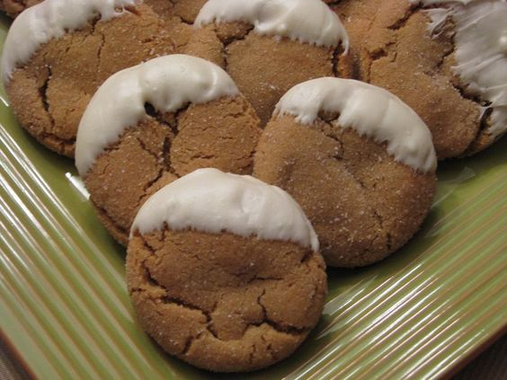 to soft gingersnap cookies with white chocolate chunks soft gingersnap ...