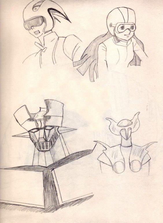 Mazinger Z drawing