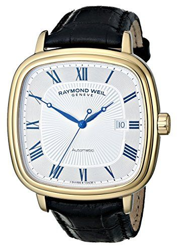 Raymond Weil Watch : Raymond Weil Men's 2867-PC-00659 Maestro Analog Display Swiss Automatic Black Watch - http://jewelry-and-watches.wegetmore.com/raymond-weil-watch-raymond-weil-mens-2867-pc-00659-maestro-analog-display-swiss-automatic-black-watch/