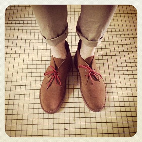 #clarks | #desertboots | Instagram photo by @Le KG