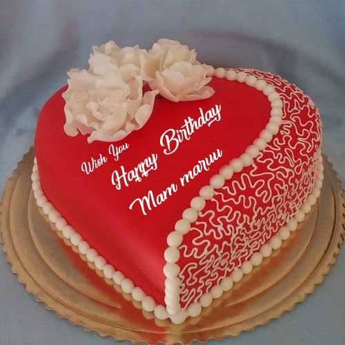 Beautiful Happy Birthday Cake Name Images Romantic Birthday Cake With Name Photos Edi Happy Birthday Cake Writing Birthday Cake Writing Birthday Cake For Wife