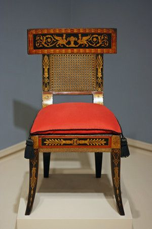 A Baltimore painted chair c. 1820