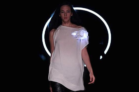 Light It Up  Berlin-based label Moon Berlin, which makes luxury clothing, focuses on using technology to enhance the look of its designs.  Soft-circuit LEDs are integrated into the garments, connected to an electrical circuit attached to rubber-like materials that are integrated into fabrics.