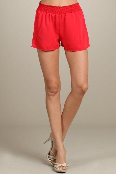 Summer Walking Shorts - Tomato