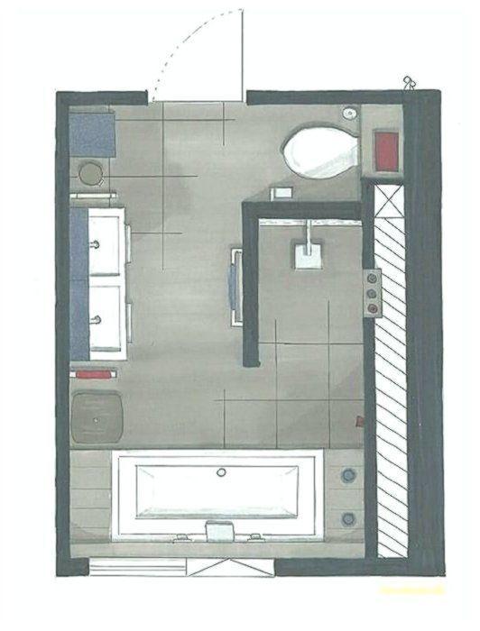 Grundriss Badezimmer 12qm Die Besten 25 Badezimmer Grundriss Ideen