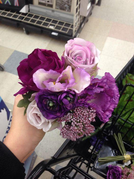 Braids maids flower Bouquet