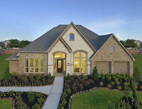 Perry Homes Shadow Creek Ranch Model Home Design 3714w Pearland Tx Houstonhomes Houston