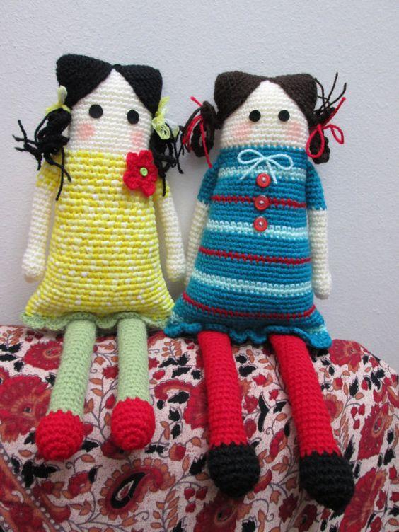 Tutorial Amigurumi Doll / Crochet Toy PDF / DIY Easy ...
