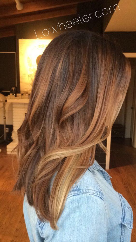 Karmelowy kolor włosów w najmodniejszym wydaniu - ombre
