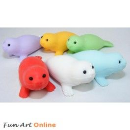 Iwako Sea Animals Seal Japanese Erasers