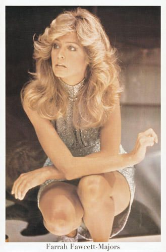 Holly (Farrah Fawcett) in Logans Run