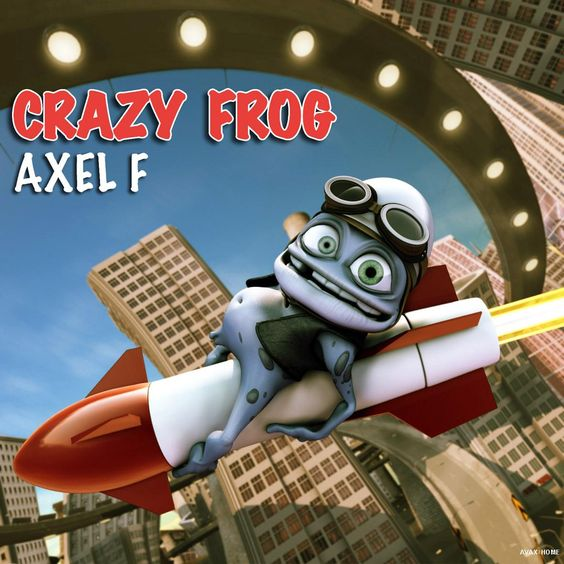Crazy Frog – Axel F (single cover art)