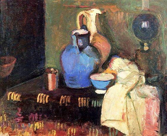 Blue Jug - Henri Matisse