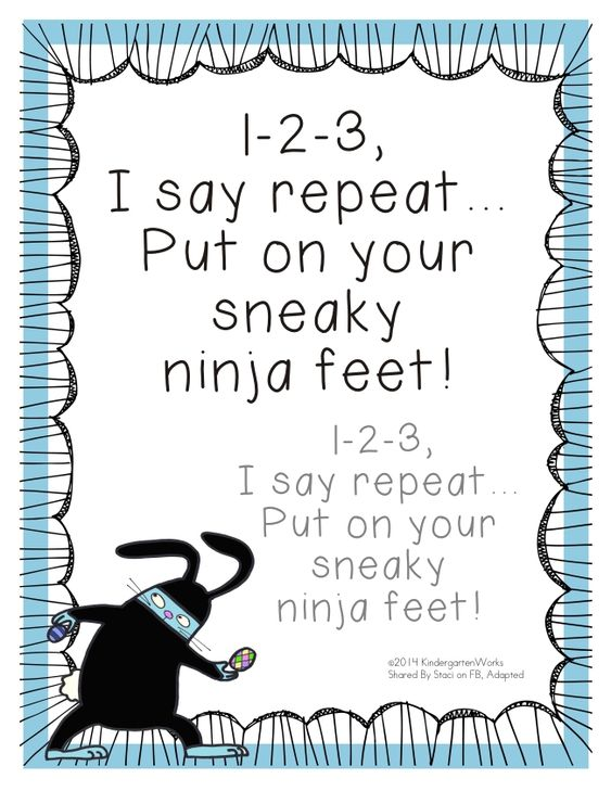Fun and Simple Poems that Help with Hallway Routines.  (Free from Kindergarten Works.)