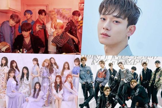 BTS, Chen, IZ*ONE, EXO, Stray Kids, And More Rank High On Billboard's World Albums Chart