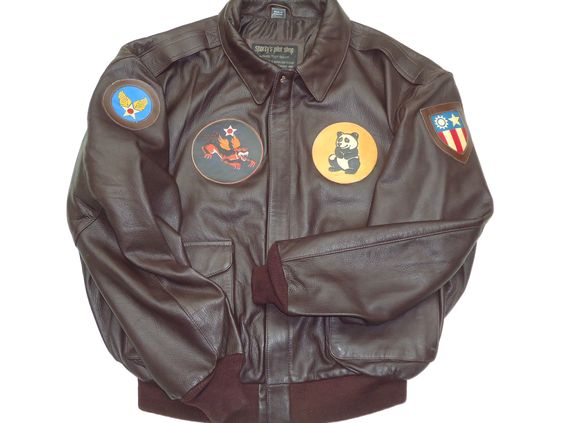Flight Jacket WWII | WWII SQUADRON PATCHES & LEATHER FLIGHT ...