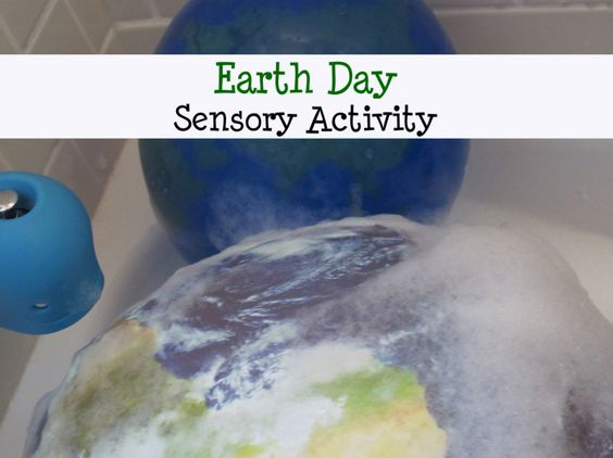 Earth Day Toddler and Preschool Sensory Activity