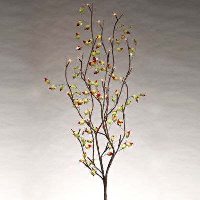 Two-Tone Leaf Lighted LED Branches-39' perfect for Fall Decor