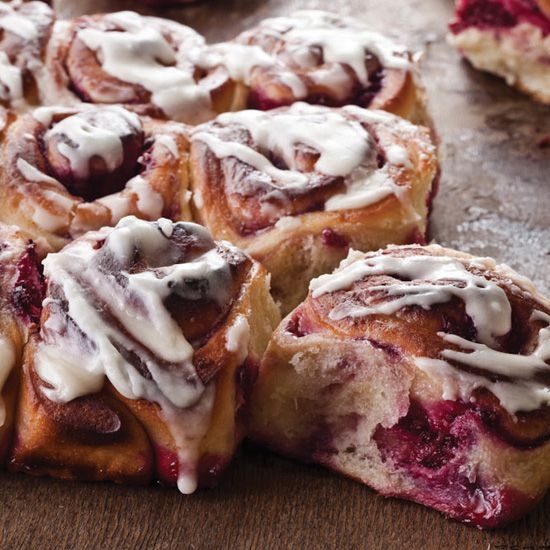 Raspberry-Swirl Sweet Rolls | Food & Wine