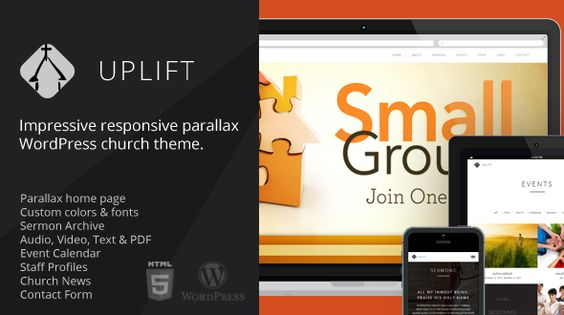 Download Uplift - Dreamy WP Themes
