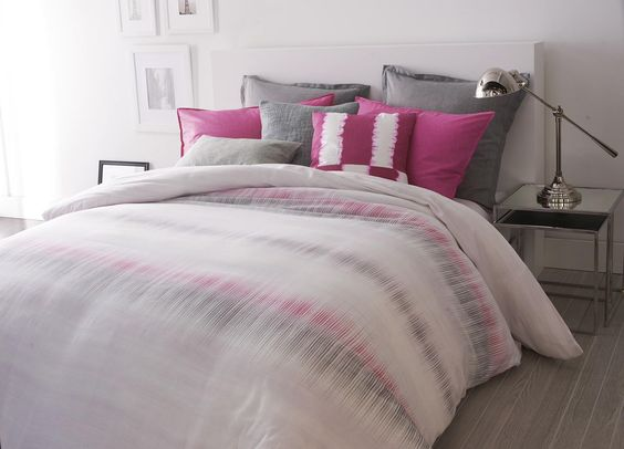 DKNY Frequency Bedding. Inspired by old-world crafts, the artful duvet ...