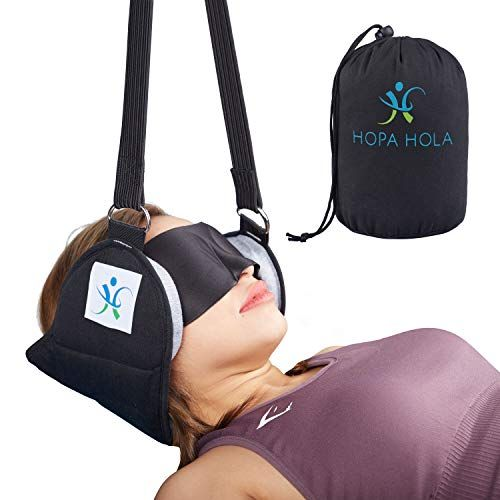 Hammock for Neck  Pain Relief  Massager Portable Cervical Traction Device