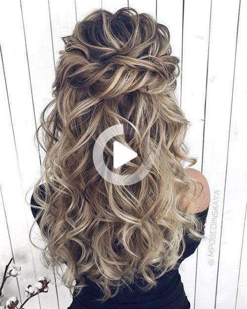 Pin On Hair Ideas Coiffure Mariage Coiffures Simples Coiffure De Bal