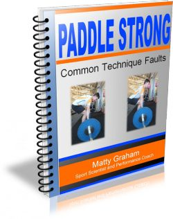 Kayak Strength Training. FREE Common Technique Faults report with every copy of Paddle Strong