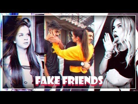 The Best Fake Friends Challenge Tiktok Compilation 2018 Youtube Friend Challenges Fake Friends Toxic Friends