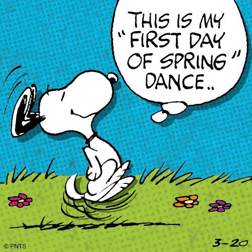 First Day Of Spring: