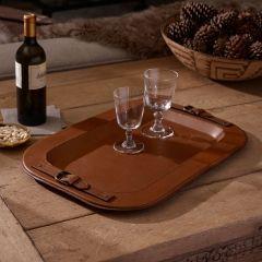 ダービースタイルレザートレー Hayden Leather Tray | インテリア - キッチン・クッキング - トレー|海外通販ならLASO(ラソ)