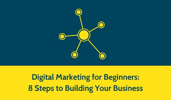 Digital Marketing Strategy for Beginners: 8 Steps to Building Your Business. Great #Infographic that can help small businesses and entrepreneurs especially.